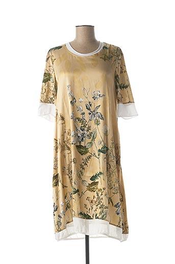 Robe mi-longue beige BEATE HEYMANN pour femme