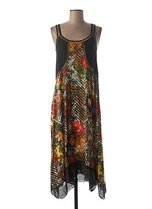 Robe longue noir BEATE HEYMANN pour femme