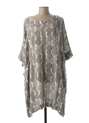 Robe mi-longue gris GERSHON BRAM pour femme