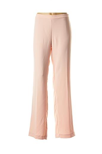 Pantalon casual rose ANDAMIO pour femme