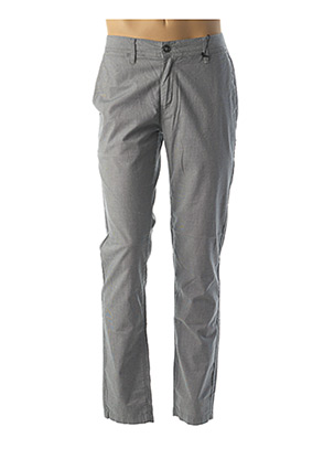 Pantalon casual gris LA CIBLE ROUGE pour homme