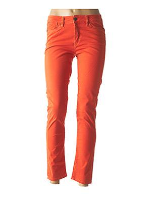 Pantalon 7/8 orange LEE COOPER pour femme