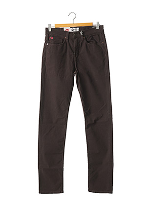 Jeans coupe droite marron LEE COOPER pour homme