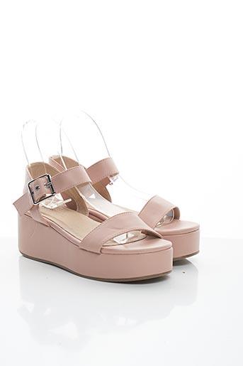 Sandales/Nu pieds rose ASOS pour femme