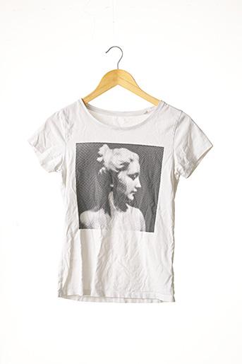 T-shirt manches courtes blanc STANLEY & STELLA pour femme