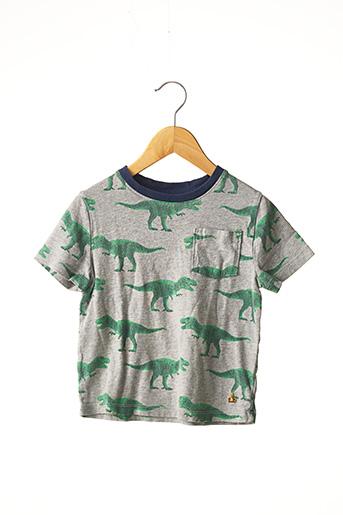 T-shirt manches courtes gris GAP pour garçon