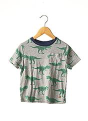 T-shirt manches courtes gris GAP pour garçon seconde vue