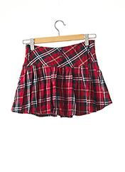 Mini-jupe rouge BLACK SUGAR pour femme seconde vue
