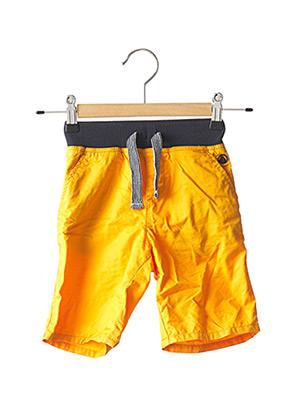 Bermuda orange PETIT BATEAU pour garçon