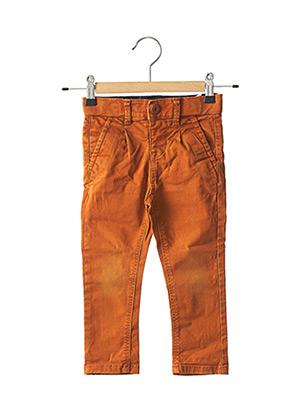Pantalon casual orange NAME IT pour garçon