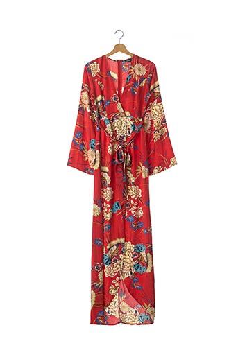 Robe longue rouge PRETTY LITTLE THING pour femme