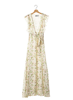 Robe longue vert BOOHOO pour femme
