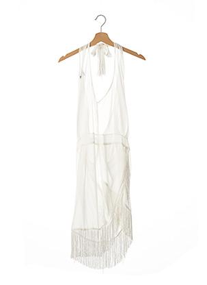 Robe mi-longue blanc PRETTY LITTLE THING pour femme