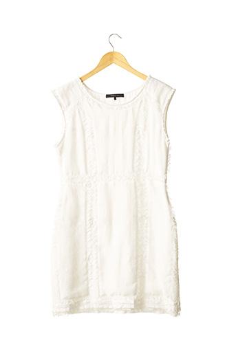 Robe mi-longue blanc BCBGMAXAZRIA pour femme