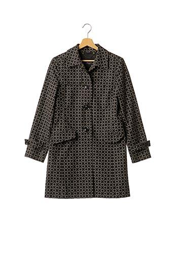 Manteau long noir WEEKEND MAXMARA pour femme