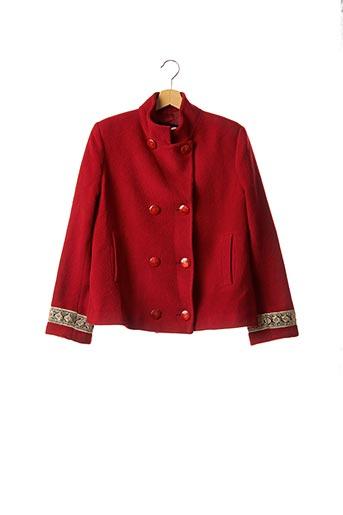Veste casual rouge DOLCE & GABBANA pour femme