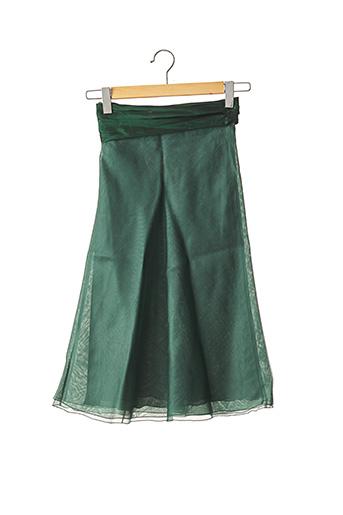 Jupe mi-longue vert ARMANI pour femme