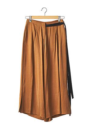 Pantalon casual marron ALYSI pour femme