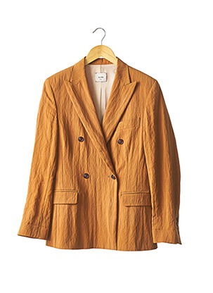 Veste chic / Blazer marron ALYSI pour femme