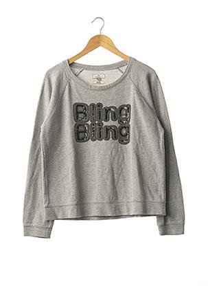 Sweat-shirt gris ESSENTIEL ANTWERP pour femme