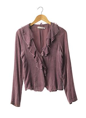 Veste casual violet PINKO pour femme