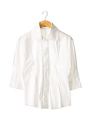 Chemisier manches longues blanc HUGO BOSS pour femme