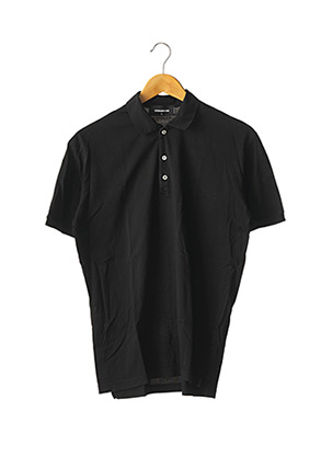 Polo manches courtes noir DSQUARED2 pour femme