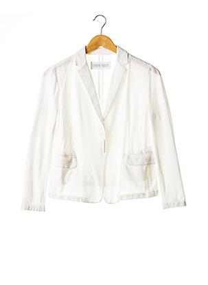 Veste chic / Blazer blanc FABIANA FILIPPI pour femme