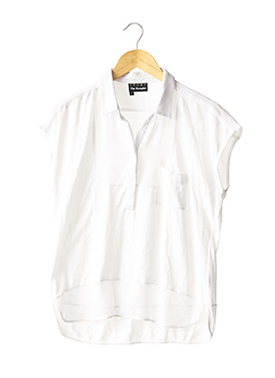 Polo manches courtes blanc THE KOOPLES (SPORT) pour femme