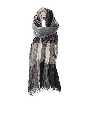Foulard gris SANS MARQUE pour homme