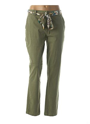 Pantalon chic vert ESPRIT DE LA MER pour femme