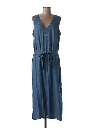 Robe mi-longue bleu ESPRIT DE LA MER pour femme