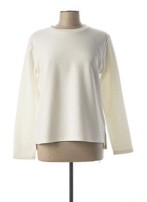 Sweat-shirt blanc ESPRIT DE LA MER pour femme