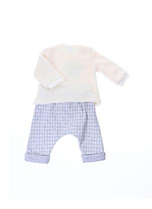 Pull/pantalon blanc LOSAN pour enfant