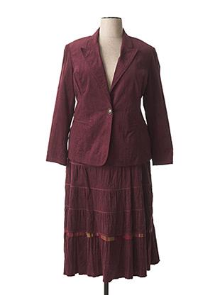 Veste/jupe violet CHRISTIAN MARRY pour femme