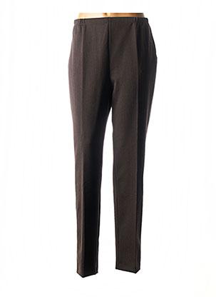 Pantalon casual marron GUY DUBOUIS pour femme