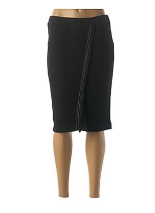 Jupe mi-longue noir EUGEN KLEIN pour femme