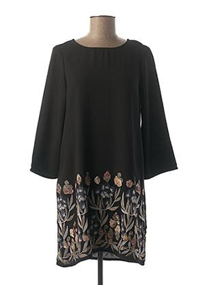 Robe courte noir TIFFOSI pour femme