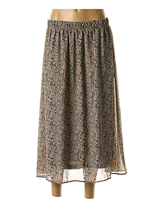 Jupe longue beige AWARE BY VERO MODA pour femme