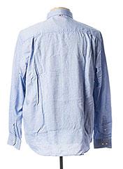 Chemise manches longues bleu SERGE BLANCO pour homme seconde vue