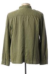 Chemise manches longues vert SERGE BLANCO pour homme seconde vue