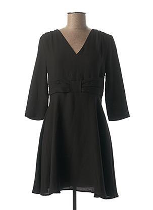 Robe courte noir Y'COO pour femme