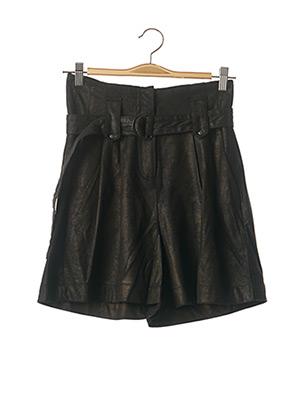 Short noir NÜ pour femme