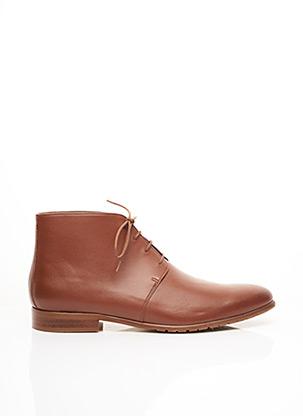 Bottines/Boots marron MINUIT SUR TERRE pour homme