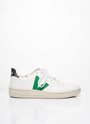Baskets vert VEJA pour homme