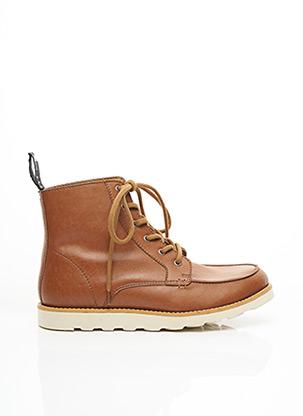 Bottines/Boots marron GOOD GUYS pour homme