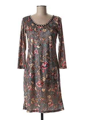 Robe mi-longue rose LO! LES FILLES pour femme