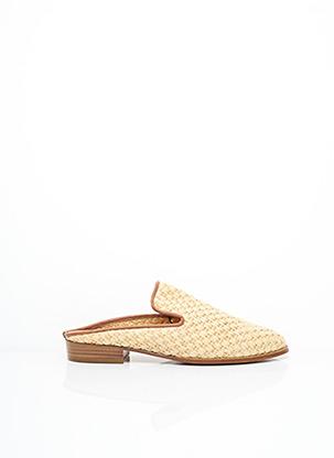 Mules/Sabots beige CLERGERIE pour femme