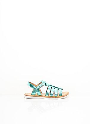 Sandales/Nu pieds bleu POM D'API pour fille