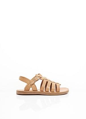 Sandales/Nu pieds marron POM D'API pour fille